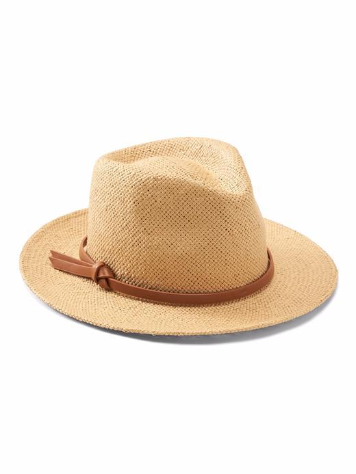 kahverengi Panama Hasır Şapka