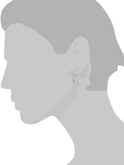 Kadın gümüş Fiyonk Detaylı Küpe