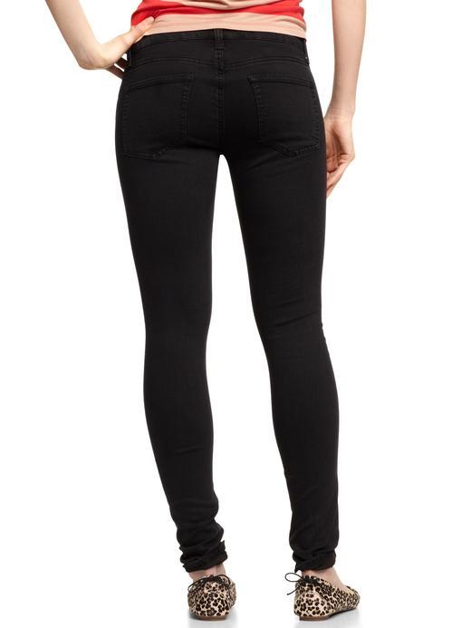 Siyah 1969 Stretch Legging Jean