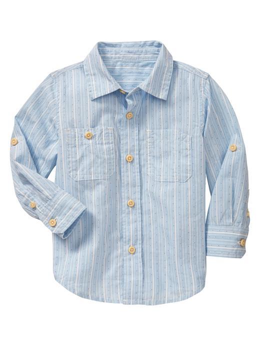 Çizgili Değiştirilebilir Gömlek