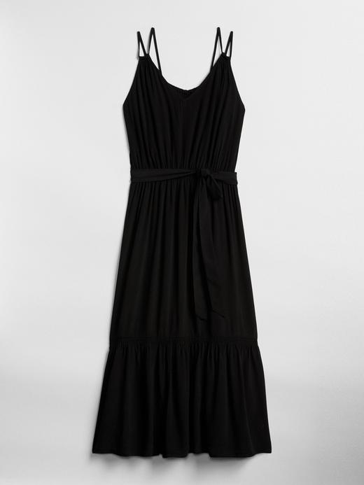 Asklılı Midi Elbise