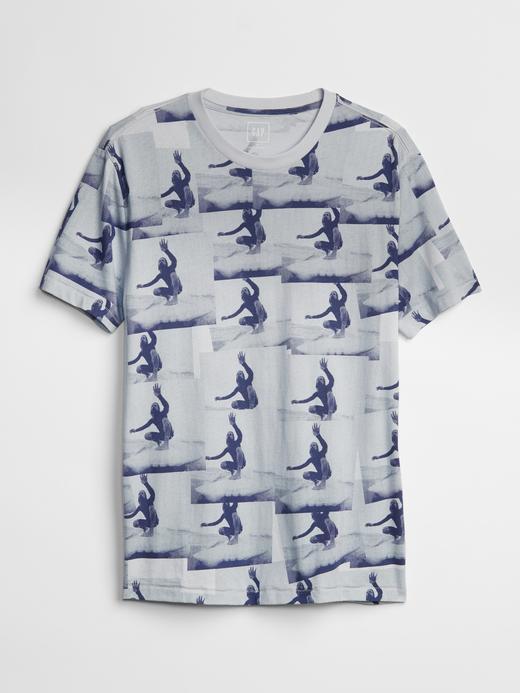 Quality Peoples Baskılı Sıfır Yaka T-Shirt