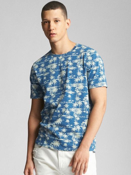 Sıfır Yaka Kısa Kollu T-Shirt