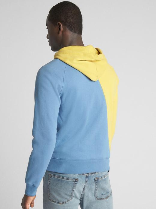 Logo Global Remix Kapüşonlu Sweatshirt