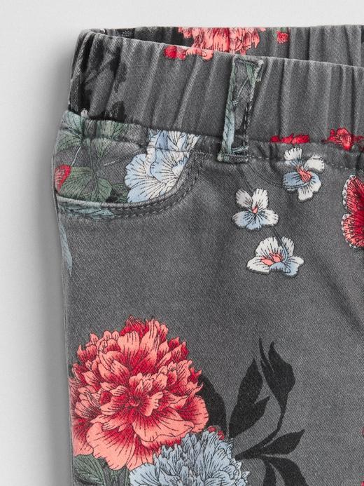 Çiçekli Favorite Jegging Tayt Pantolon
