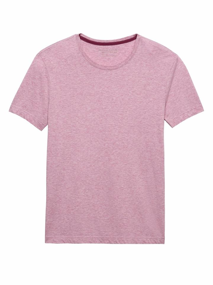 Soft Wash Sıfır Yaka T-Shirt