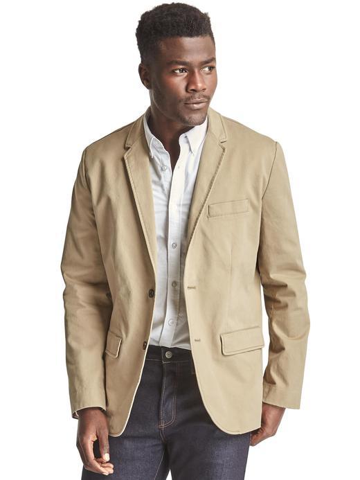 Klasik streç ceket