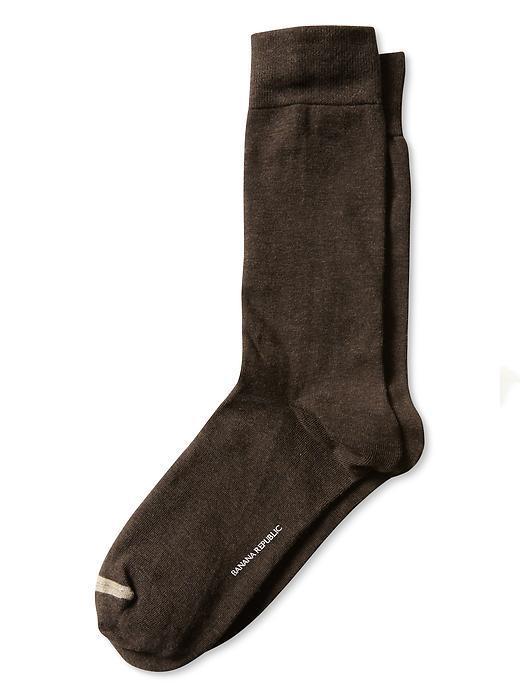 Erkek kahverengi Jarse Çorap