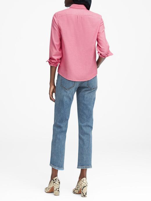 Quinn Boy-Fit Oxford Gömlek