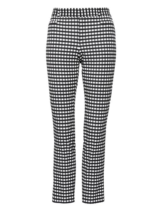 Sloan Skinny Fİt Ekose Pantolon
