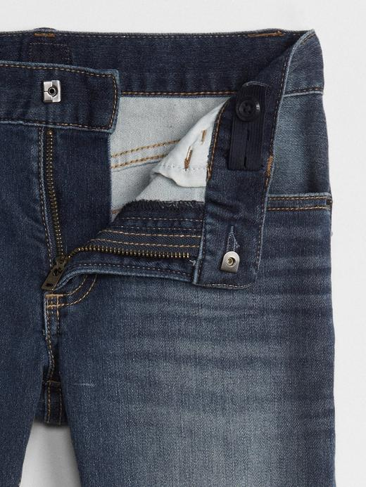 Erkek Çocuk orta yıkama Supersoft Slim Fit Jean Pantolon