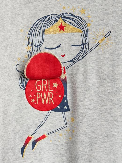 babyGap | DC™ Wonder Woman Pullu Baskılı T-Shirt