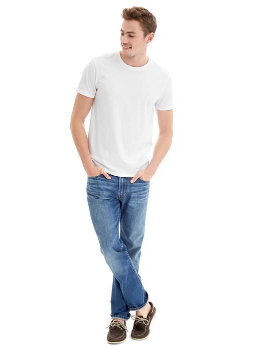 Düz Sıfır Yaka T-Shirt