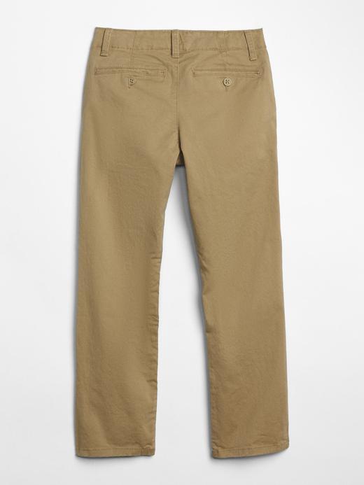 Erkek Çocuk bej Streç Chino Pantolon