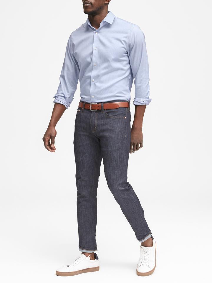 Camden Standard-Fit Streçsiz Ütü Gerektirmeyen Gömlek
