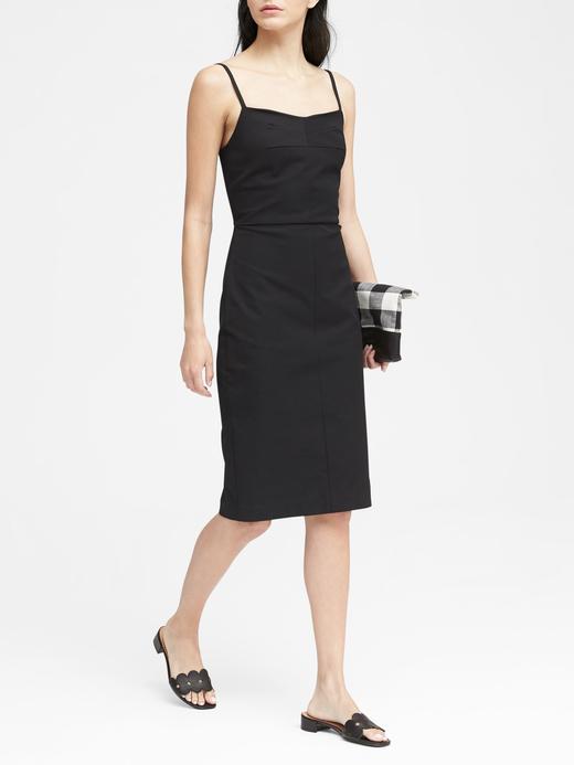 Askılı Streç Elbise