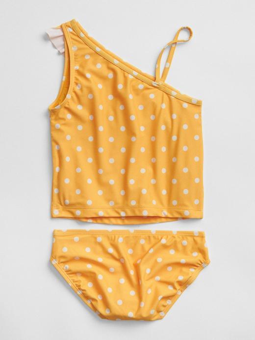 Asimetrik Kesim Puantiyeli Bikini