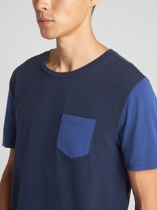 Essential Kısa Kollu Cepli T-Shirt