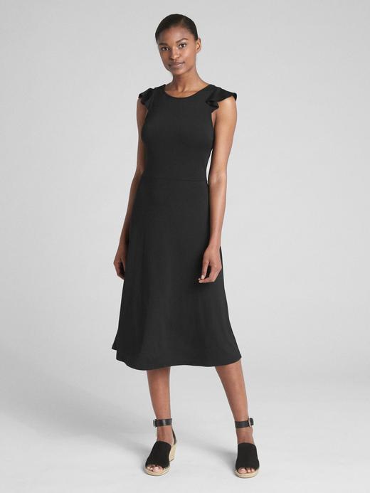 Kadın Siyah Kolsuz Elbise