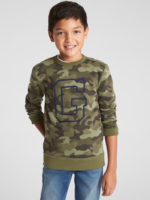 Logolu Baskılı Sweatshirt