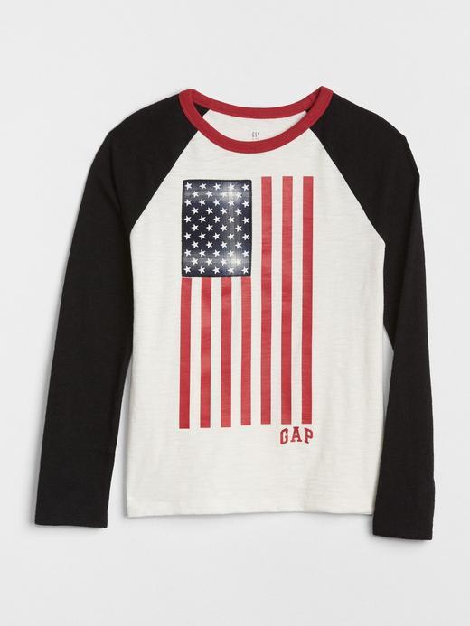 Logolu Baskılı Reglan Kollu T-Shirt