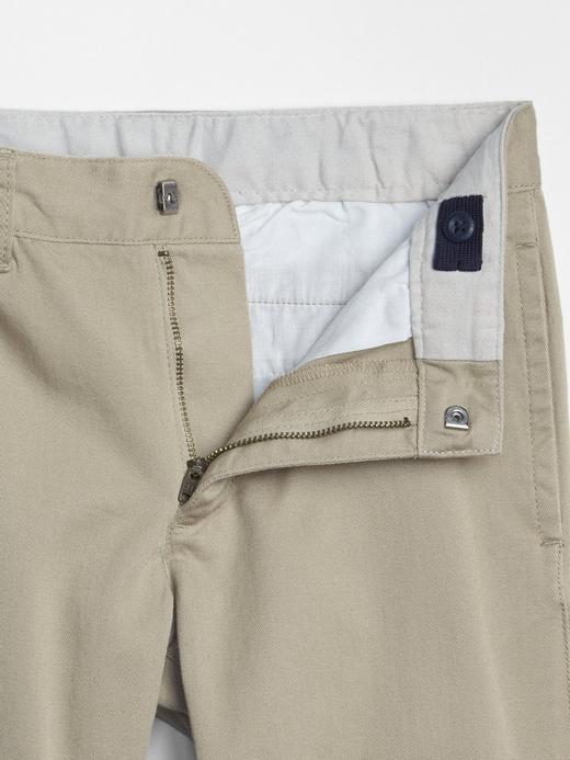 Uniform Staight Streç Kumaşlı Khaki Pantolon