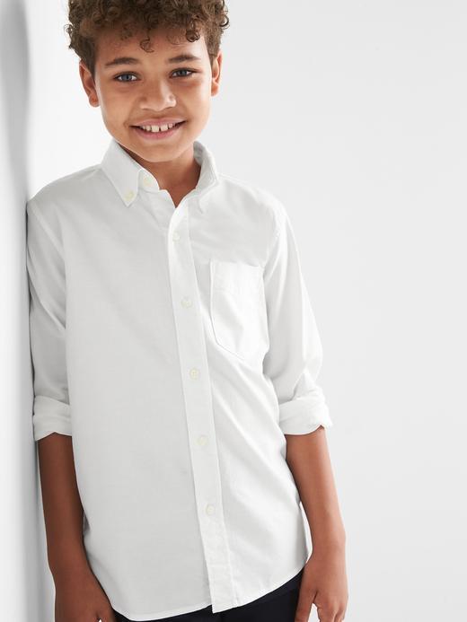 Uniform Oxford Uzun Kollu Gömlek