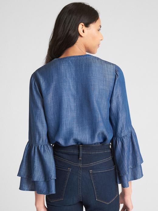 Uzun Kollu Tencel™ Bluz