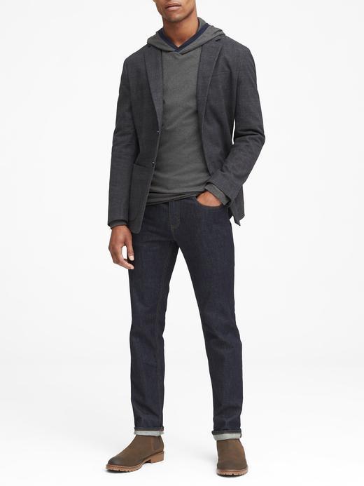 Luxury-Touch Kapüşonlu Sweatshirt