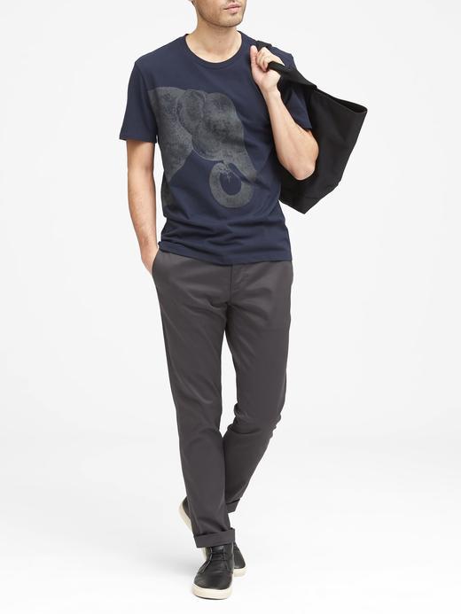Soft Wash Baskılı T-Shirt