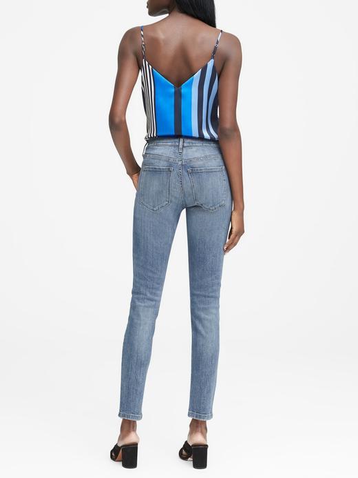 Açık Yıkamalı Skinny Jean Pantolon