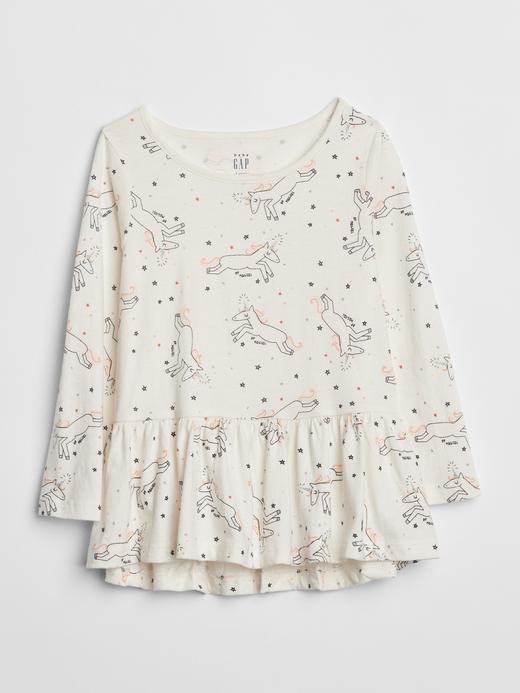 Desenli Tunik T-Shirt