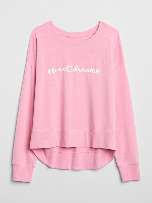 Kadın beyaz Baskılı Sweatshirt