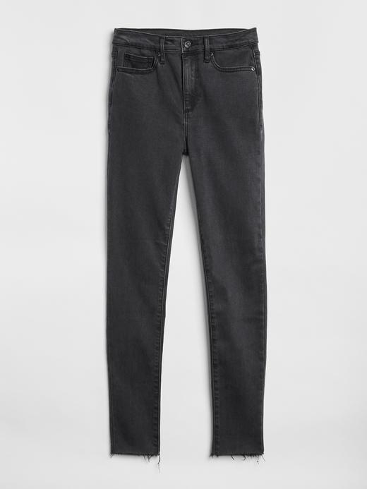 Yumuşak Dokulu Yüksek Belli True Skinny Jean Pantolon