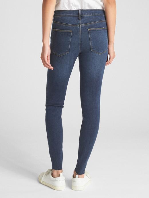 Yumuşak Dokulu Orta Belli True Skinny Jean Pantolon