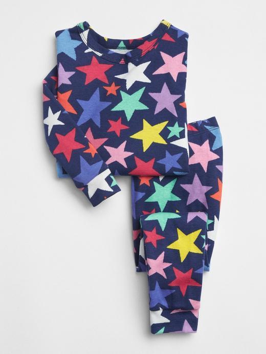 Yıldız Desenli Pijama Takımı