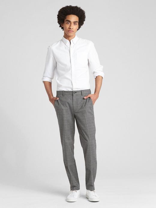 Slim Fit GapFlex Ekose Pantolon