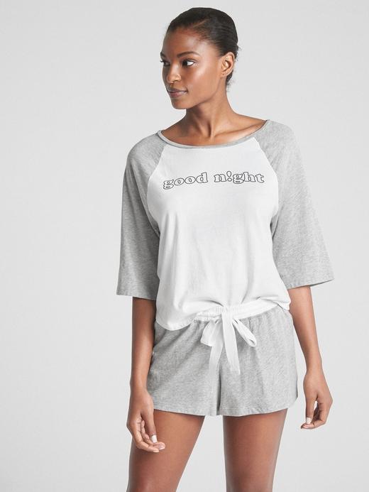 Kadın good night Forever Favorite Reglan Kollu T-Shirt