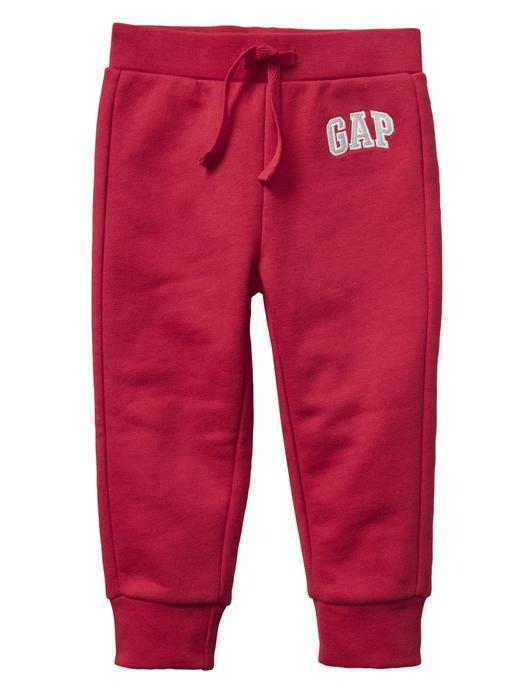 Bebek kırmızı Gap Logo Polar Eşofman Altı