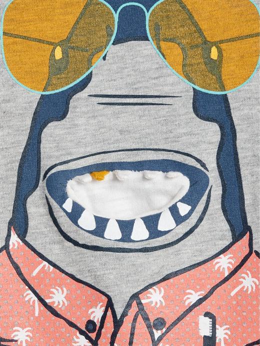Baskılı Kısa Kollu T-Shirt