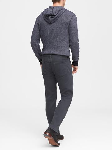 Erkek Gri Traveler Slim Fit Jean Pantolon
