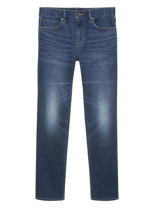 Slim Rapid Movement Koyu Yıkamalı Jean Pantolon