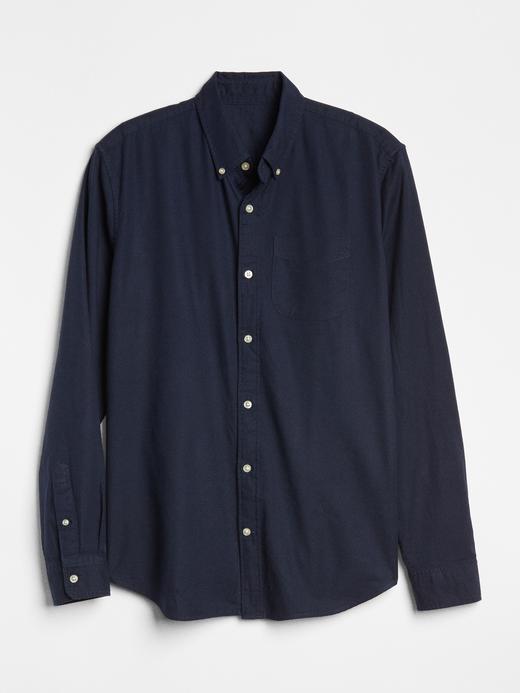 Erkek lacivert Erkek Oxford Gömlek