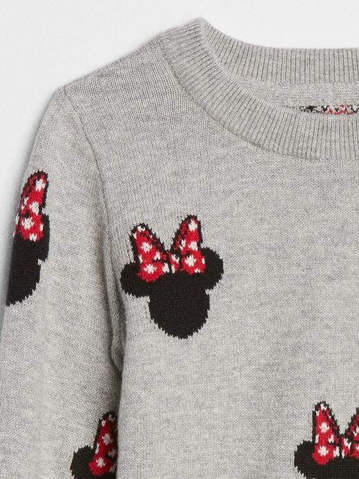 babyGap | Disney Minnie Mouse Sıfır Yaka Kazak