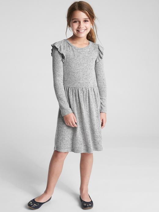 Softspun Fırfırlı Elbise