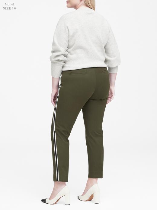 Sloan Skinny-Fit Çizgili Pantolon