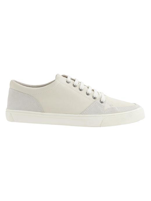 Erkek beyaz Jacob sneaker ayakkabı