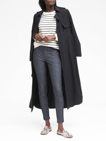 Kadın Bej Sloan Skinny-Fit Pantolon