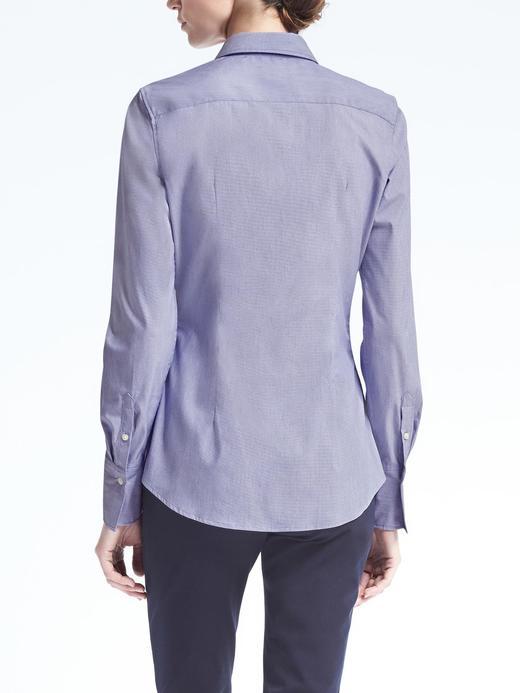 Riley Tailored-Fit Streçli Gömlek
