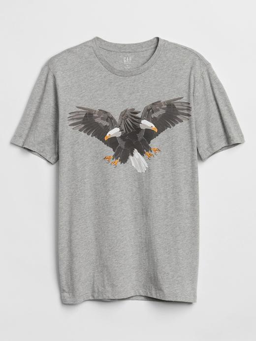Baskılı Kısa Kollu Sıfır Yaka T-Shirt